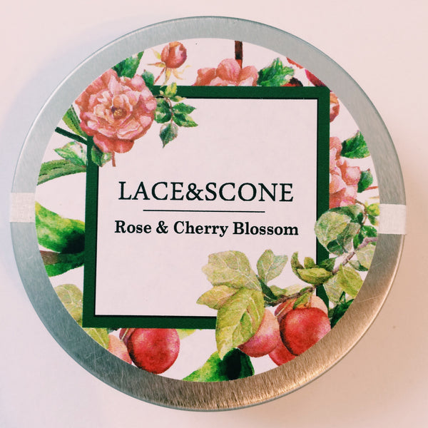 Rose and Cherry Blossom Green Tea Sample Tin