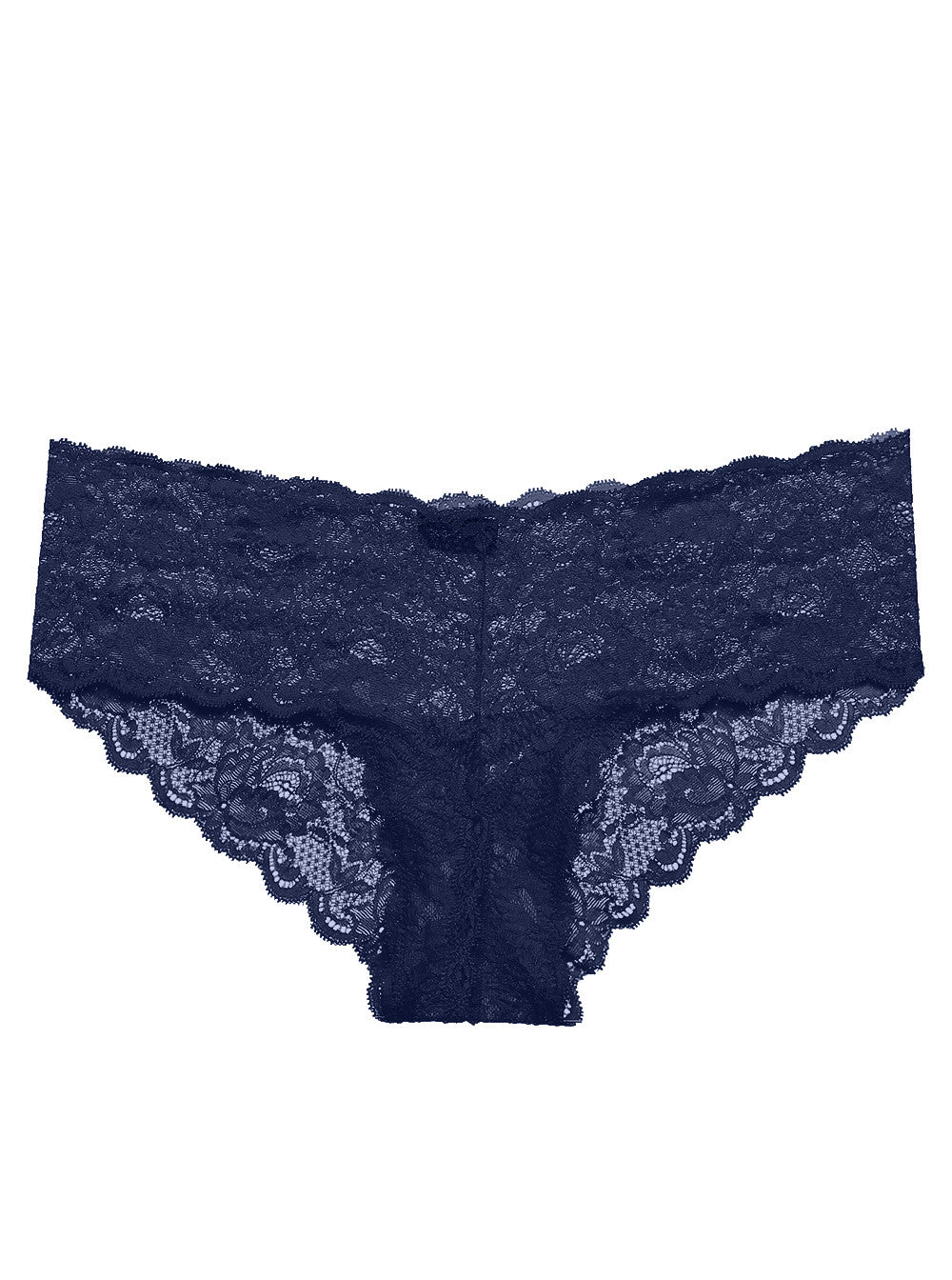 Navy Never Say Never Hottie Lace Hotpant