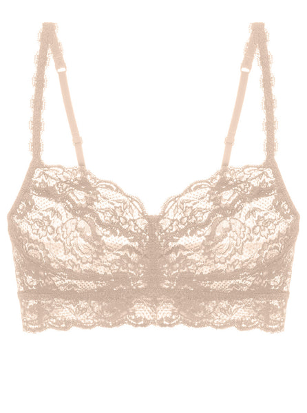 White Never Say Never Sweetie Lace Bralette