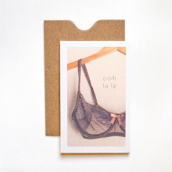 Ooh La La Mini Card