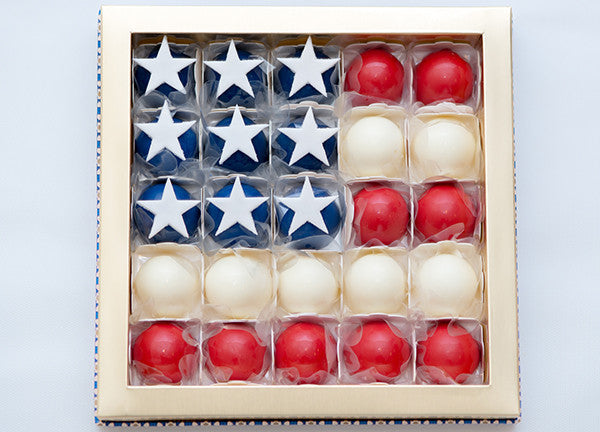 25 Chocolates Box – 4th of July Collection