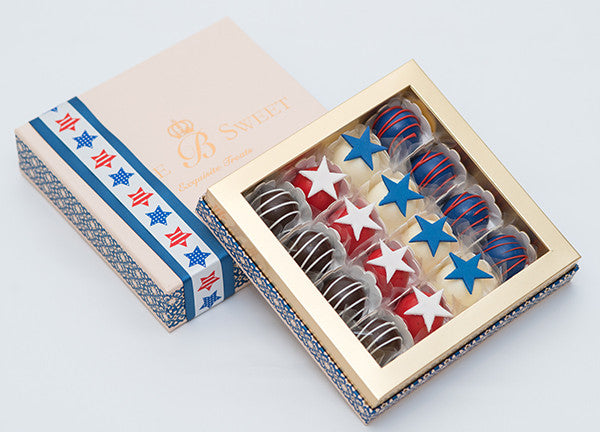 16 Chocolates Box – 4th of July Collection