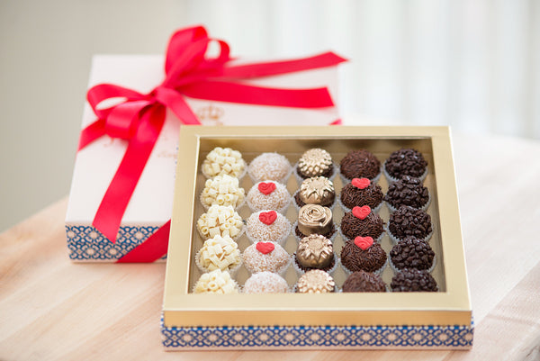 25 Brigadeiros – Valentine's Day Collection