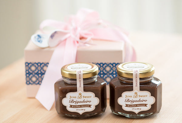 2 Jars of Brigadeiro – Valentine's Day Collection