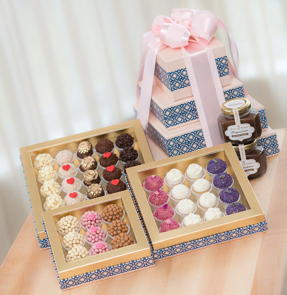 Tower of Brigadeiro – 4 Boxes Valentine's Day Collection