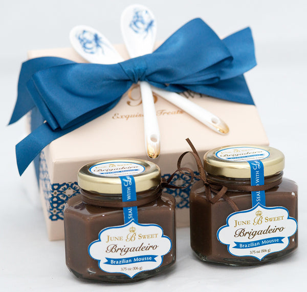 2 Jars of Brigadeiro in a Box