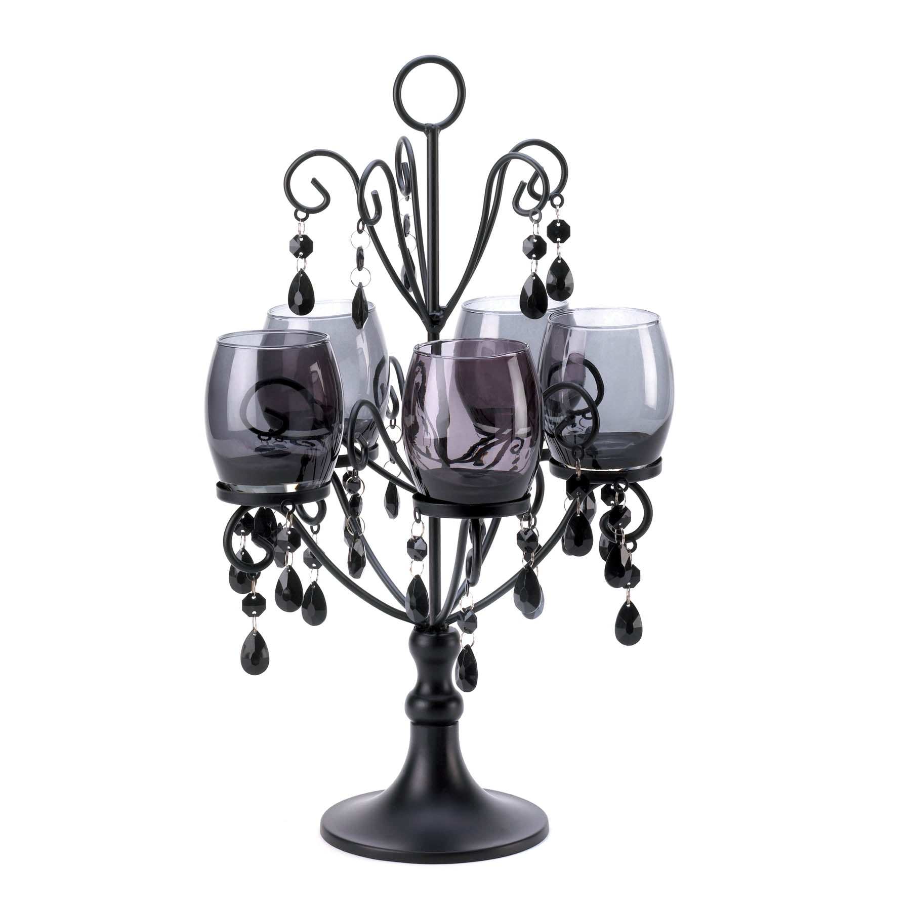 Gallery of Light Midnight Elegance Candelabra - 10015105