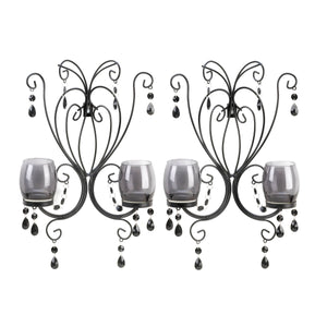 Gallery of Light Midnight Elegance Wall Sconces - 10015106