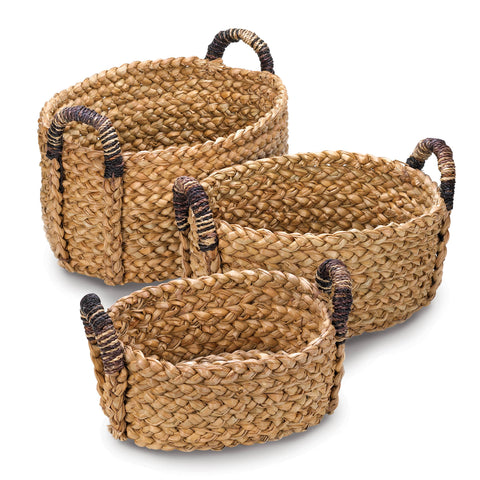 Accent Plus Rustic Woven Nesting Baskets - 10015231