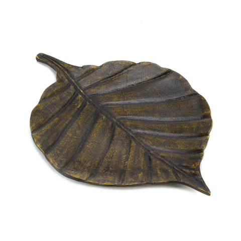 Accent Plus Avery Leaf Decorative Tray - 10015384