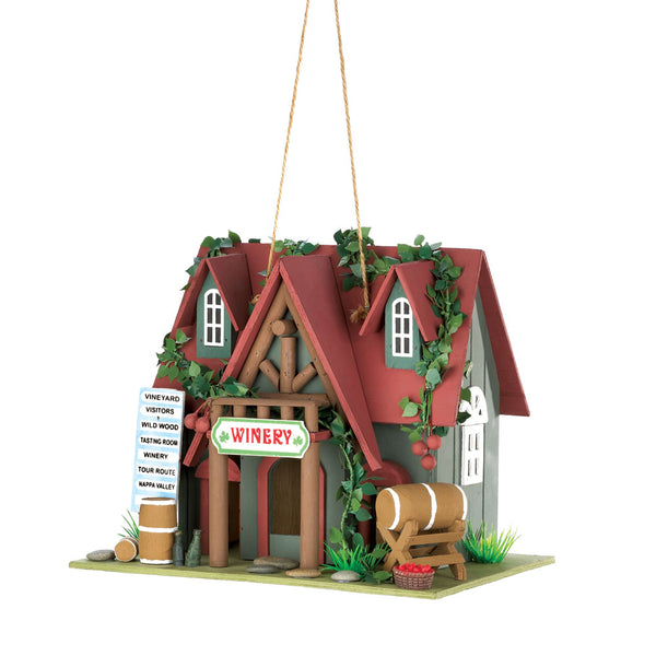 Songbird Valley Cottage Winery Birdhouse - 10015391