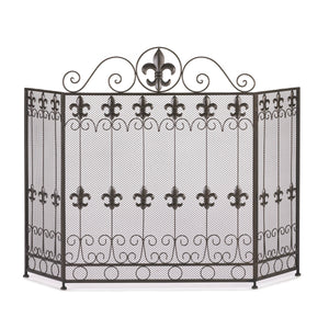 Accent Plus French Revival Fireplace Screen - 10015400