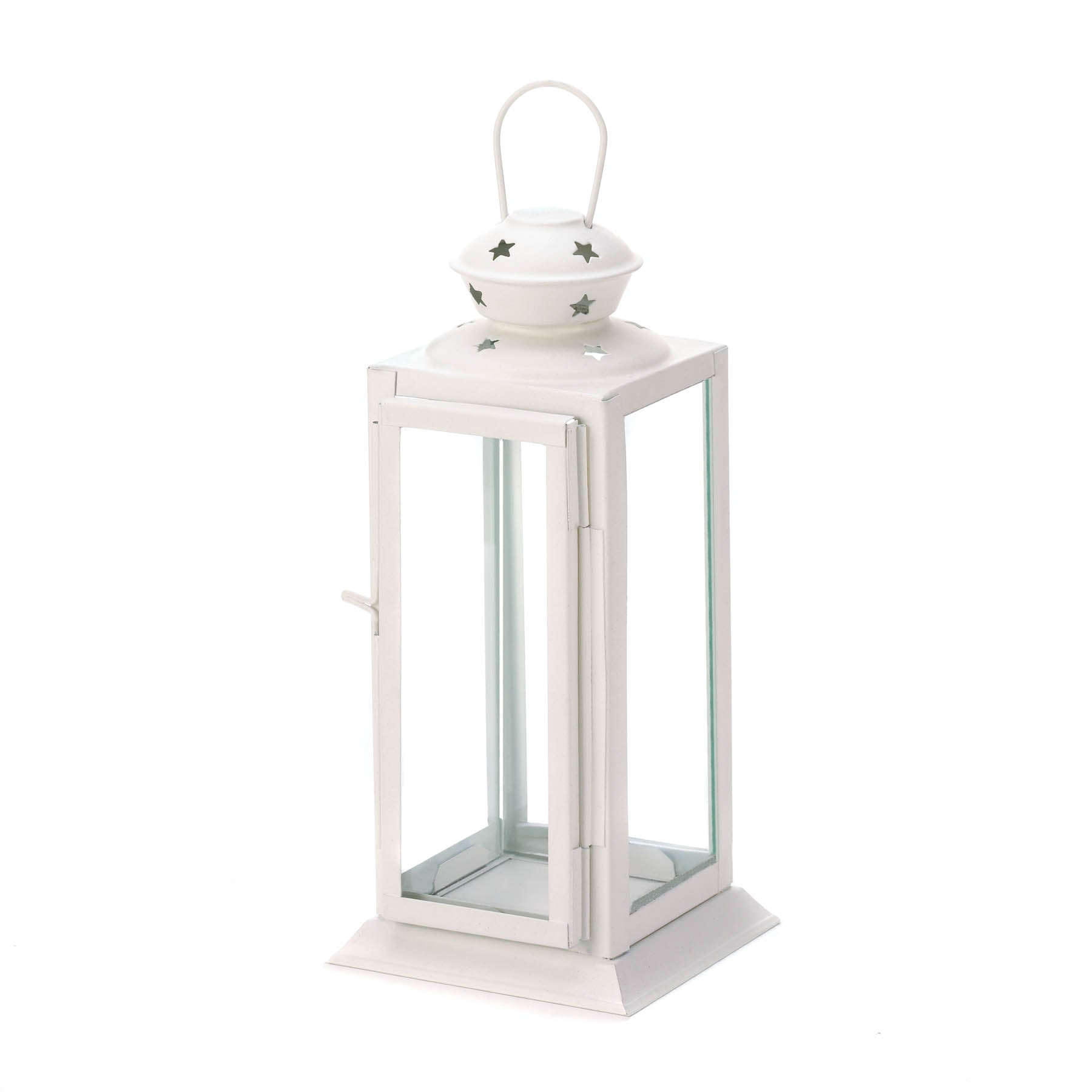 Gallery of Light Starlight White Candle Lantern - 10015419
