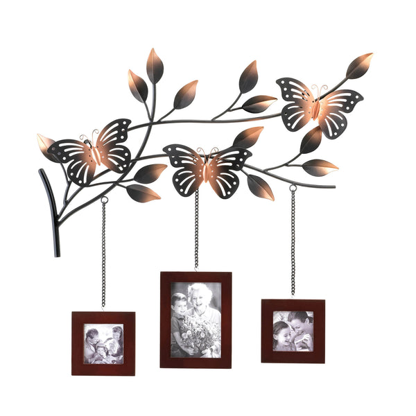 Accent Plus Butterfly Frames Wall Décor - 10015473
