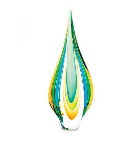 Accent Plus Cool Flame Art Glass Statue - 10015486