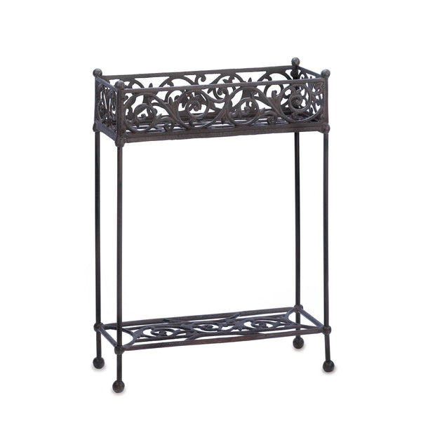 Summerfield Terrace Cast Iron Two-Tier Plant Stand - 10015519
