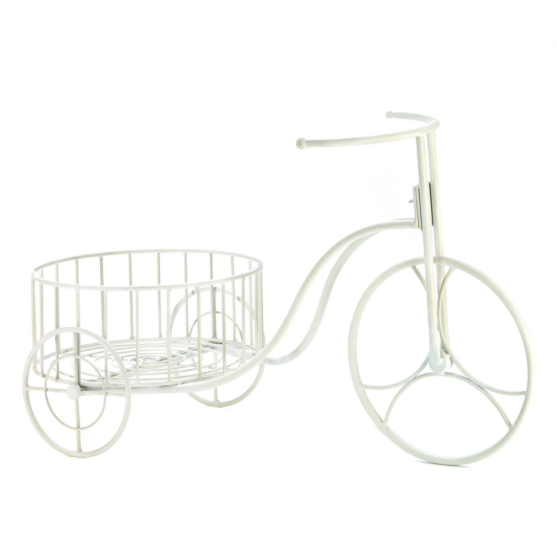 Summerfield Terrace White Tricycle Plant Display - 10015694