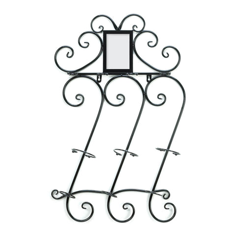 Accent Plus Scrollwork Wall Wine Rack - 10015695