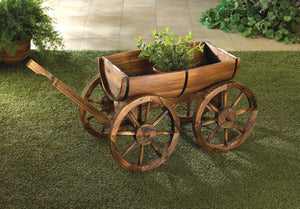 Summerfield Terrace Apple Barrel Planter Wagon - 10015795