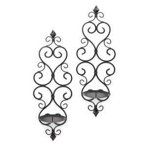 Gallery of Light Fleur-De-Lis Wall Sconce Duo - 10015834
