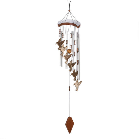 Summerfield Terrace Hummingbird Flutter Windchime - 10015860