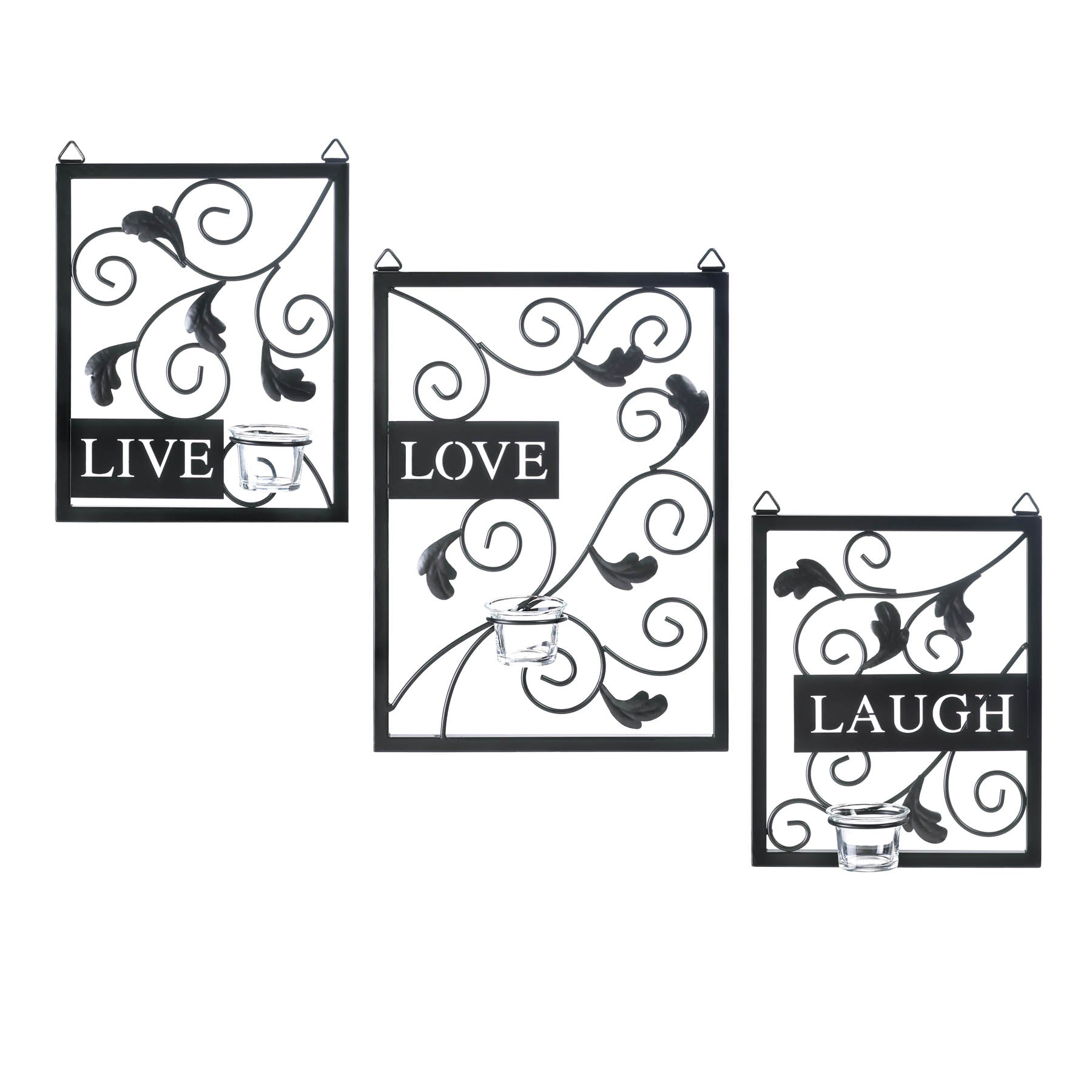 Live, Love, Laugh Wall Decor