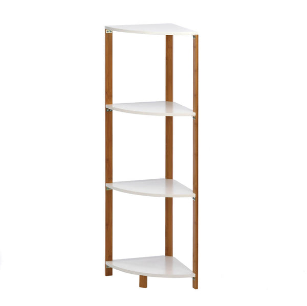 Accent Plus Bamboo Corner Shelf - 10016085