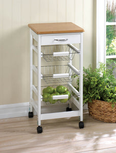 Accent Plus Kitchen Side Table Trolley - 10016088