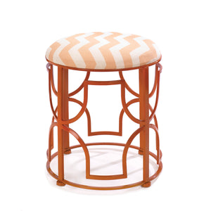 Accent Plus Chic Chevron Stool - 10016182