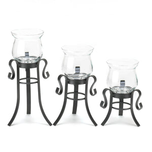 Gallery of Light Allure Candle Stand Trio - 10016837