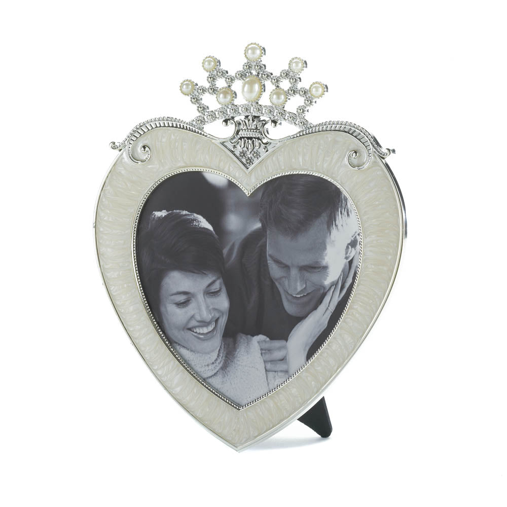 Accent Plus Crown Heart Frame 5X5 - 10016951