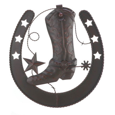 Accent Plus Cowboy Horseshoe Wall Decor - 10016998