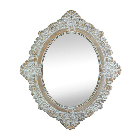 Accent Plus Vintage Amelia Taupe  Mirror - 10017104