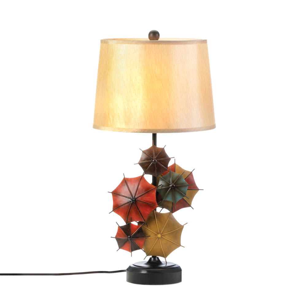 Gallery of Light Colorful Umbrella Table Lamp - 10017286