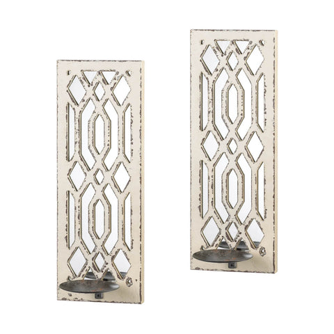 Gallery of Light Deco Mirror Wall Sconce Set - 10017331