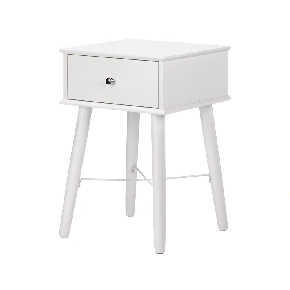 Accent Plus Perfect White Lacquer Side Table - 10017523