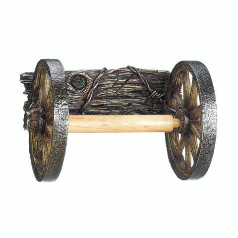 Accent Plus Wagon Wheel Toilet Paper Holder - 10017549