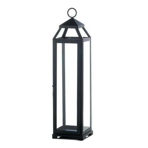 Gallery of Light Extra Large Lean & Sleek Candle Lantern - 10017655
