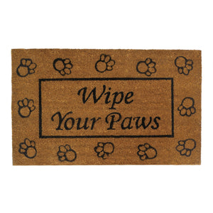 Summerfield Terrace Wipe Your Paws Welcome Mat - 10017676