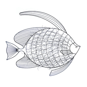 Accent Plus Intricate Fish Wall Decor - 10017852