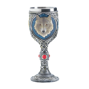 Dragon Crest Timber Wolf Goblet - 10017864