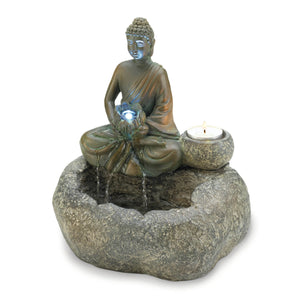 Cascading Fountains Buddha Tabletop Fountain - 10017965
