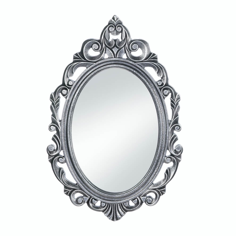 Accent Plus Silver Royal Crown Wall Mirror - 10018073
