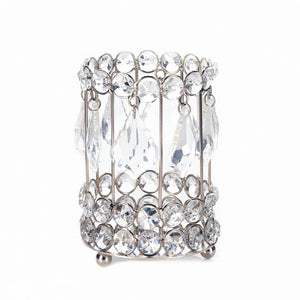 Gallery of Light Large Crystal Drop Candleholder - 10018137
