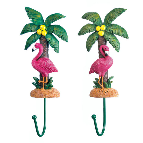 Accent Plus Flamingo Wall Hook Set - 10018152