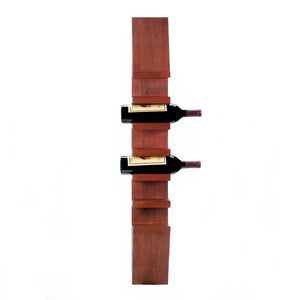 Accent Plus Sleek Wooden Wine Wall Rack - 10018167