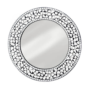 Accent Plus Round Mosaic Wall Mirror - 10018281