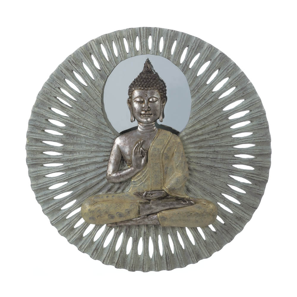 Accent Plus Buddha Circular Wall Decor - 10018339