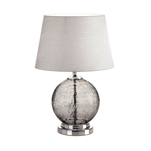 Gallery of Light Grey Cracked Glass Table Lamp - 10018358