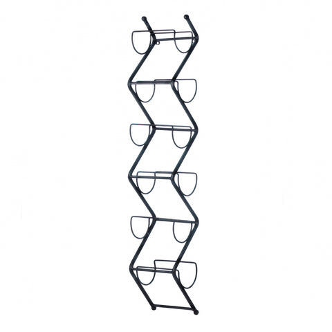 Accent Plus Chevron Wall Wine Holder - 10018365